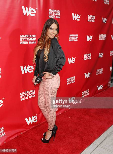 TV personality Drita D'avanzo attends the Marriage Boot Camp Reality Stars event at Catch Rooftop on May 29 2014 in New York City