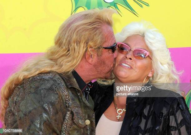 TV personality Duane Chapman aka Dog and his wife Beth arrive at Nickelodeon's 26th Annual Kids' Choice Awards at USC Galen Center in Los Angeles USA...