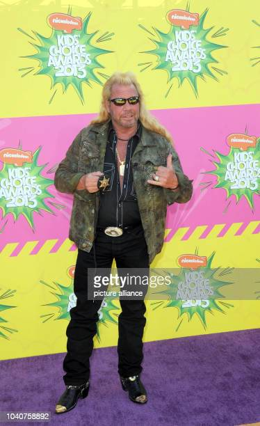TV personality Duane Chapman aka Dog arrives at Nickelodeon's 26th Annual Kids' Choice Awards at USC Galen Center in Los Angeles USA on 23 March 2013...