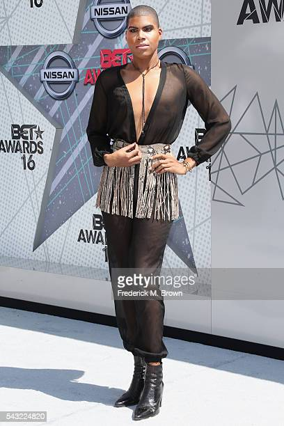 TV personality EJ Johnson attends the 2016 BET Awards at the Microsoft Theater on June 26 2016 in Los Angeles California