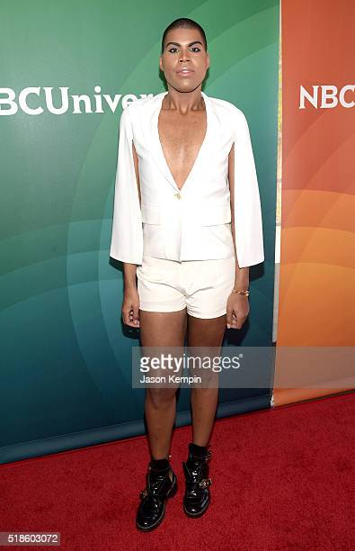 TV personality EJ Johnson attends the 2016 NBCUniversal Summer Press Day at Four Seasons Hotel Westlake Village on April 1 2016 in Westlake Village...