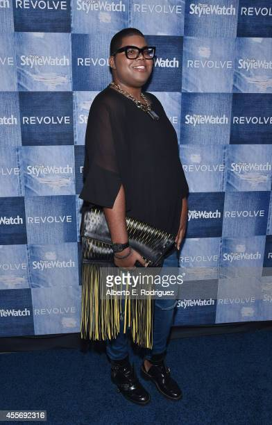 TV personality EJ Johnson attends the People StyleWatch Denim Event at The Line on September 18 2014 in Los Angeles California
