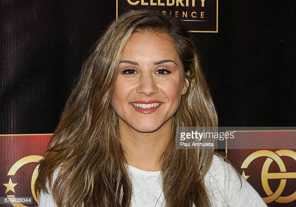 Personality Electra Formosa attends the Celebrity Experience QA panel at The Universal Hilton Hotel on July 16 2016 in Los Angeles California