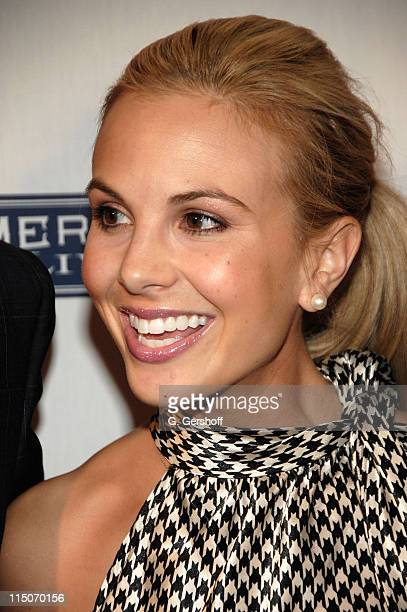 TV personality Elisabeth Hasselbeck arrives to JCPenney's American Living Launch Party at Skylight on February 19 2008 in New York City