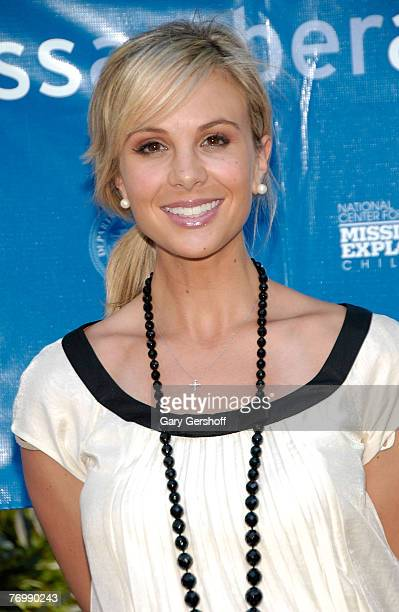 V Personality Elisabeth Hasselbeck Helps Launch the Wireless AMBER Alert Campaign at Madison Square Park September 24 2007 in New York City