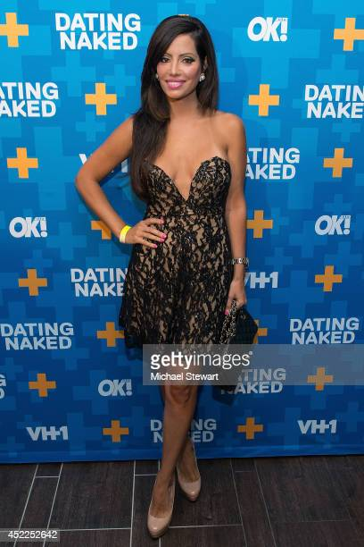TV personality Elizabeth Vashisht attends the 'Dating Naked' series premiere at Gansevoort Park Avenue on July 16 2014 in New York City