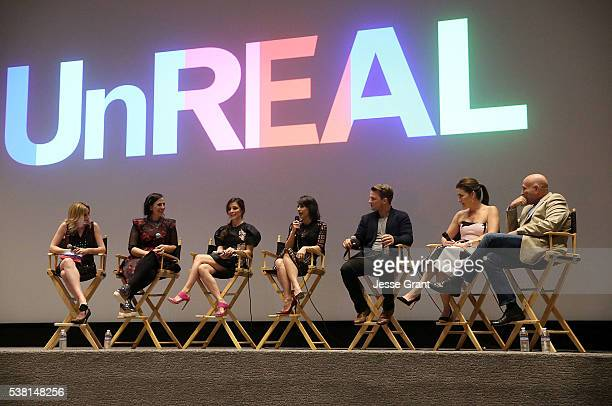 TV personality Elizabeth Wagmeister CoCreator and executicve producer Sarah Gertrude Shapiro actress Shiri Appleby actress Constance Zimmer actor...