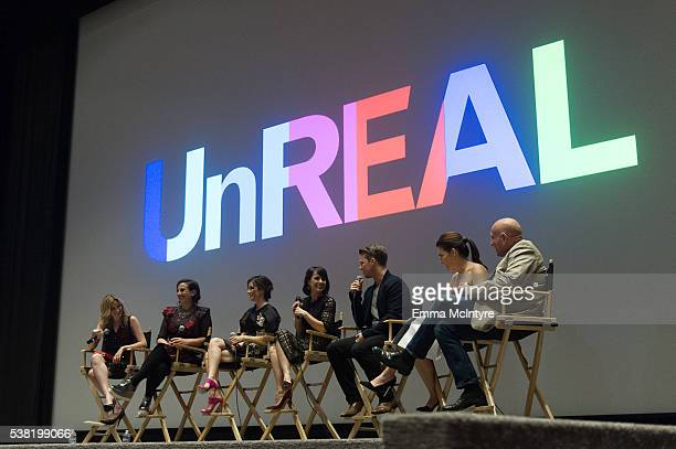 TV personality Elizabeth Wagmeister cocreator/executive producer Sarah Gertrude Shapiro actress Shiri Abbleby actress Constance Zimmer actor Freddie...