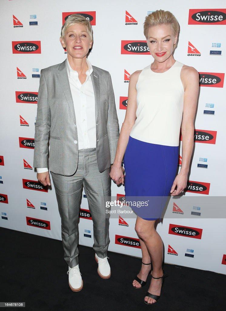 Ellen DeGeneres Welcome Party