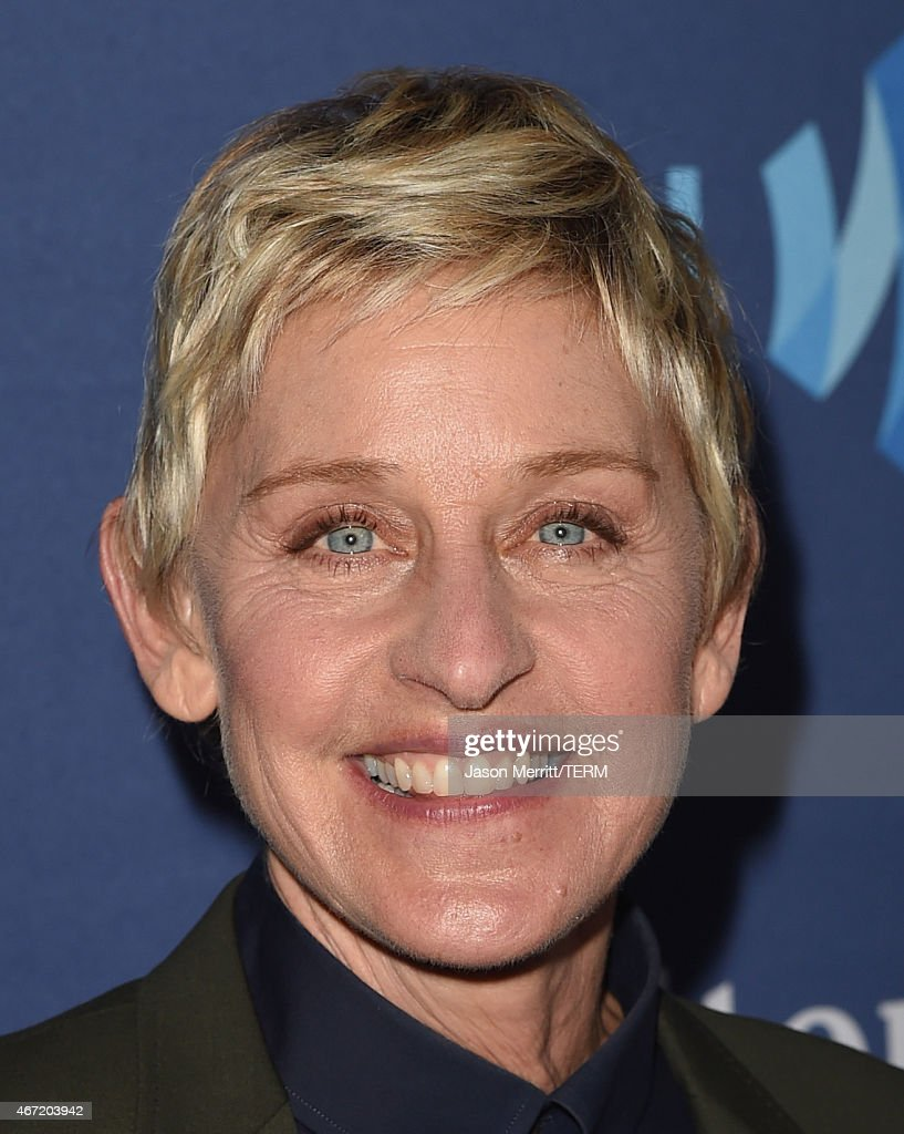 TV personality Ellen DeGeneres attends the 26th Annual GLAAD Media Awards at The Beverly Hilton Hotel on March 21, 2015 in Beverly Hills, California.