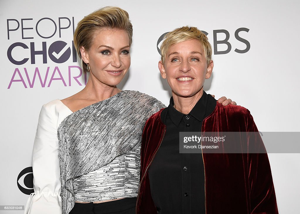 People's Choice Awards 2017 - Press Room : News Photo
