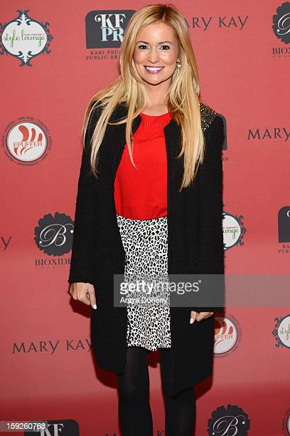 TV personality Emily Maynard attends Kari Feinstein's PreGolden Globes Style Lounge at the W Hollywood on January 10 2013 in Hollywood California