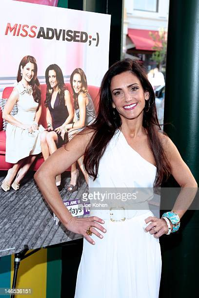 TV personality Emily Morse attends the season premiere viewing party for Bravo's Miss Advised at Planet Dailies Mixology 101 on June 18 2012 in Los...