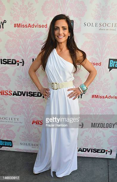 TV personality Emily Morse attends the season premiere viewing party of Bravo's Miss Advised hosted by Executive Producer Ashley Tisdale held at...