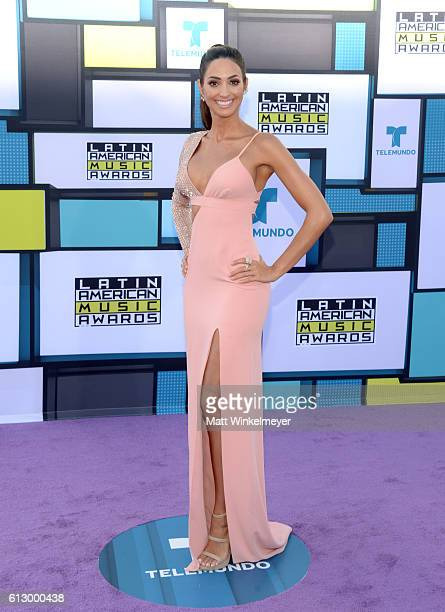 TV personality Erika Csiszer attends the 2016 Latin American Music Awards at Dolby Theatre on October 6 2016 in Hollywood California