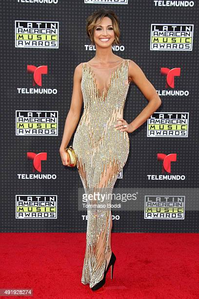 TV personality Erika Csiszer attends the Telemundo's Latin American Music Awards 2015 held at Dolby Theatre on October 8 2015 in Hollywood California