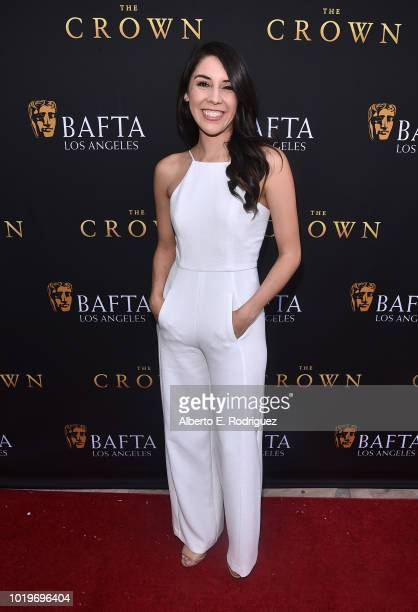 TV personality Erika de la Cruz attends the BAFTALA Summer Garden Party at The British Residence on August 19 2018 in Los Angeles California