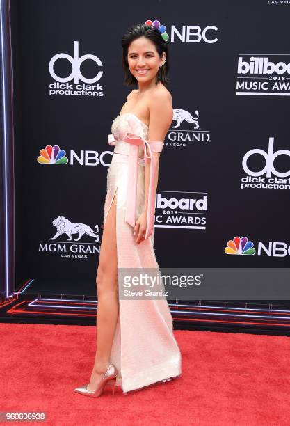TV personality Erin Lim attends the 2018 Billboard Music Awards at MGM Grand Garden Arena on May 20 2018 in Las Vegas Nevada