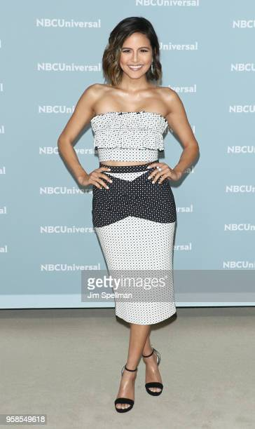 TV personality Erin Lim attends the 2018 NBCUniversal Upfront presentation at Rockefeller Center on May 14 2018 in New York City