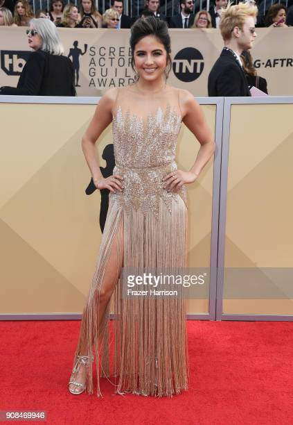 TV personality Erin Lim attends the 24th Annual Screen Actors Guild Awards at The Shrine Auditorium on January 21 2018 in Los Angeles California