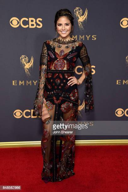 TV personality Erin Lim attends the 69th Annual Primetime Emmy Awards at Microsoft Theater on September 17 2017 in Los Angeles California