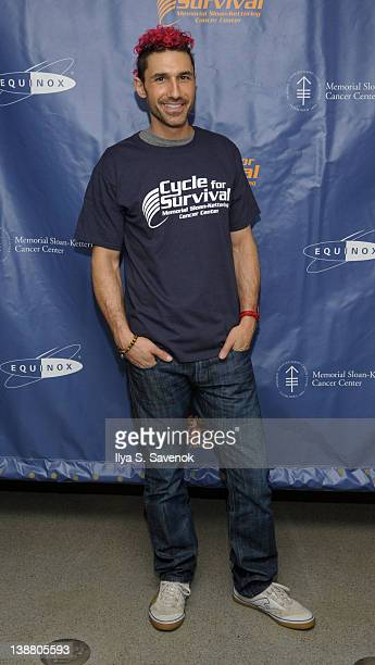 Personality Ethan Zohn attends 2012 Cycle For Survival - Day 2 at Equinox Graybar on February 12, 2012 in New York City.