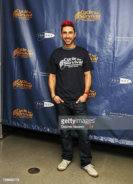 V personality Ethan Zohn attends 2012 Cycle For Survival Day 2 at Equinox Graybar on February 12 2012 in New York City
