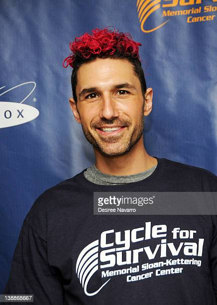 V personality Ethan Zohn attends the 2012 Cycle For Survival Day 2 at Equinox Graybar on February 12 2012 in New York City