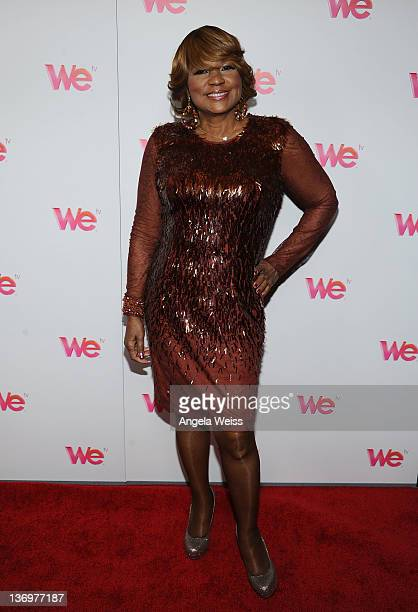 """Personality Evelyn Braxton arrives at WE tv's """"Family Affair"""" 2012 Winter TCA event at Langham Hotel on January 13, 2012 in Pasadena, California."""