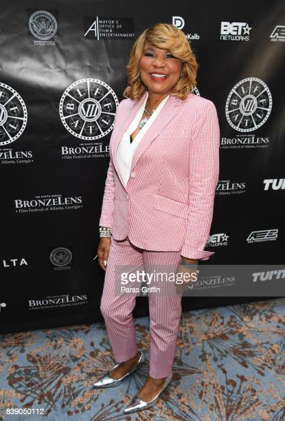 TV personality Evelyn Braxton at 2017 BronzeLens Women SuperStars Luncheon at Westin Peachtree Plaza on August 25 2017 in Atlanta Georgia