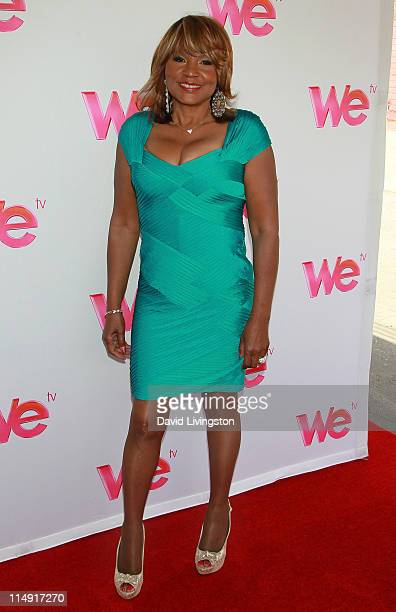"""Personality Evelyn Braxton attends a reunion special taping for the WE TV series' """"Braxton Family Values"""" at Occidental Studios on May 28, 2011 in..."""