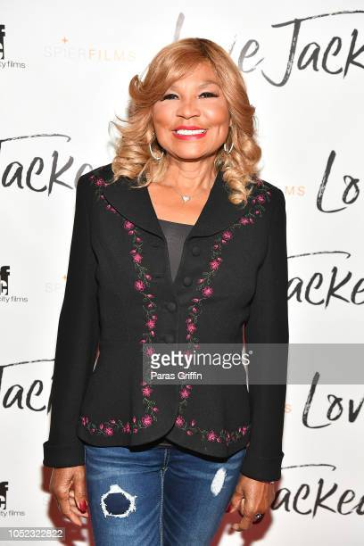 "Personality Evelyn Braxton attends ""Love Jacked"" Atlanta VIP screening at Regal Atlantic Station on October 16, 2018 in Atlanta, Georgia."