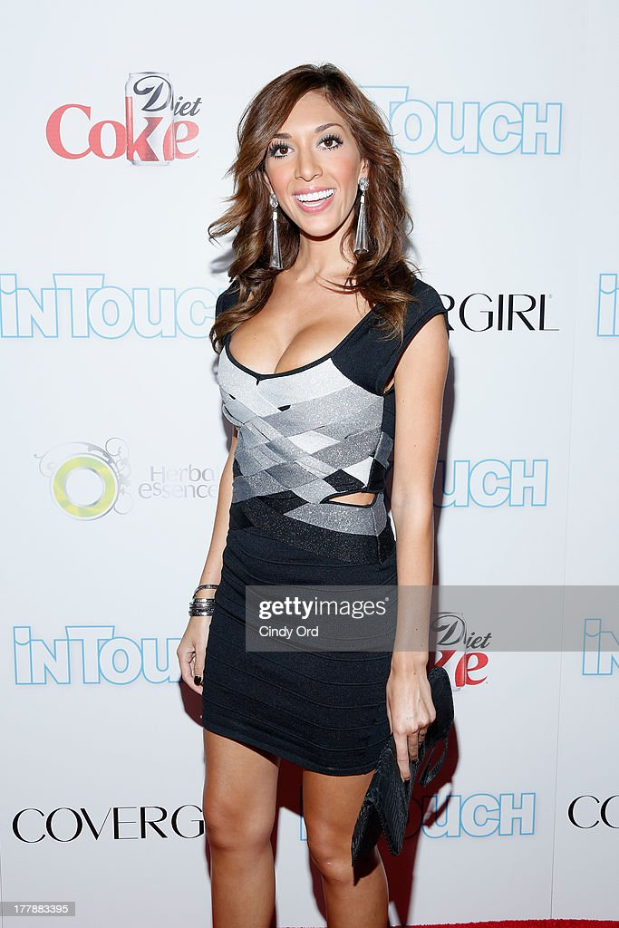 TV Personality Farrah Abraham arrives at Intouch Weekly's 'ICONS & IDOLS Party' at FINALE Nightclub on August 25, 2013 in New York City.