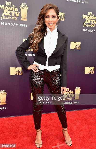TV personality Farrah Abraham attends the 2018 MTV Movie And TV Awards at Barker Hangar on June 16 2018 in Santa Monica California
