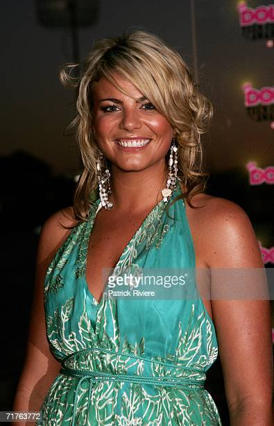 TV personality Fiona Falkiner arrives at the inaugural Dolly Teen Choice Awards at Luna Park on August 31 2006 in Sydney Australia 66000 Australian...