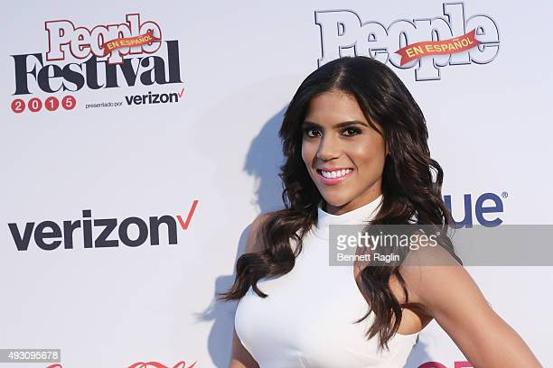 TV personality Francisca Lachapel attends Festival PEOPLE En Espanol 2015 presented by Verizon at Jacob Javitz Center on October 17 2015 in New York...