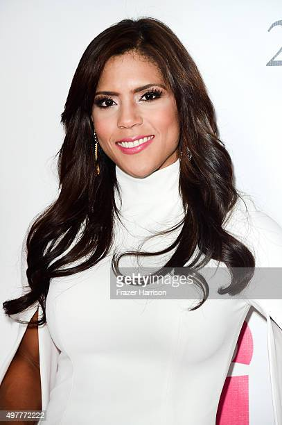 TV personality Francisca Lachapel attends the 2015 Latin GRAMMY Person of the Year honoring Roberto Carlos at the Mandalay Bay Events Center on...