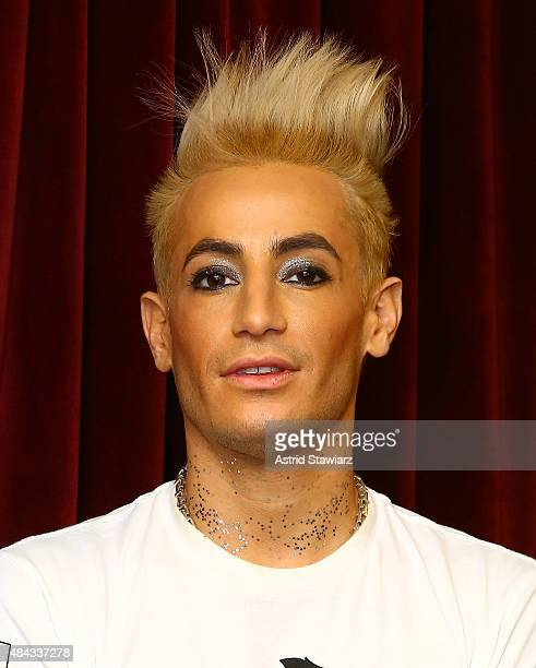 TV personality Frankie Grande visits the SiriusXM Studios on August 17 2015 in New York City