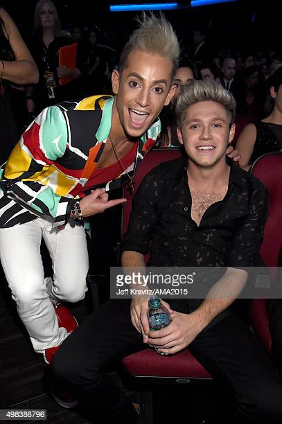 TV personality Frankie J Grande and singer Niall Horan of One Direction attend the 2015 American Music Awards at Microsoft Theater on November 22...