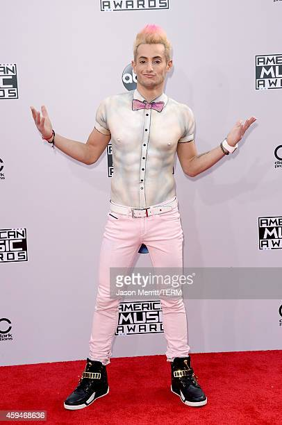 TV personality Frankie J Grande attends the 2014 American Music Awards at Nokia Theatre LA Live on November 23 2014 in Los Angeles California