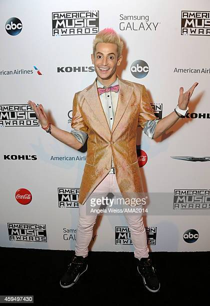 TV personality Frankie J Grande attends the official 2014 American Music Awards after party at the at Nokia Theatre LA Live on November 23 2014 in...