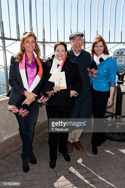 TV personality from 'The Real Housewives of New York City' and author Jill Zarin mother/coauthor Gloria Kamen father Sol Kamen and sister/coauthor...