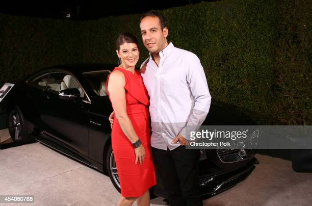 TV personality Gail Simmons andJeremy Abrams attend Variety and Women in Film Emmy Nominee Celebration powered by Samsung Galaxy on August 23 2014 in...