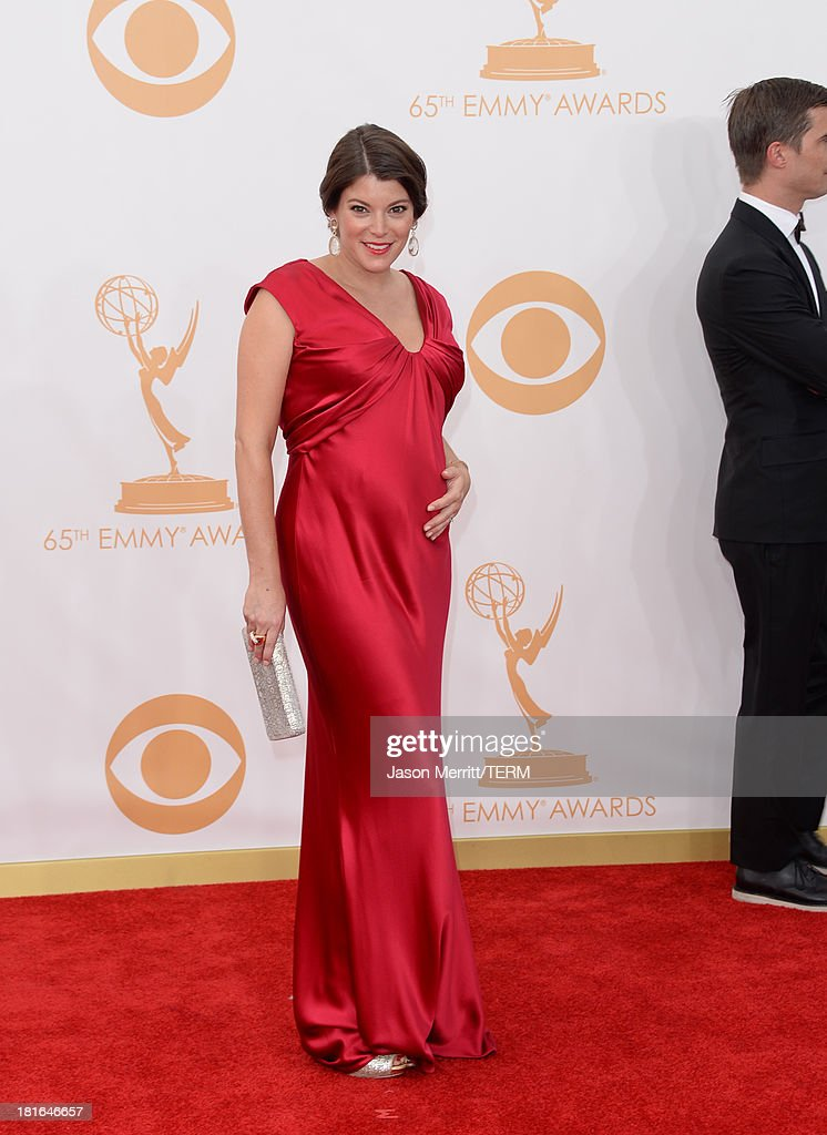 TV personality Gail Simmons arrives at the 65th Annual Primetime Emmy Awards held at Nokia Theatre L.A. Live on September 22, 2013 in Los Angeles, California.