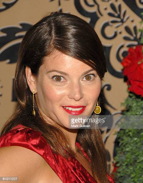 TV personality Gail Simmons arrives at the HBO Post Emmy Awards Reception at the Pacific Design Center on September 20 2009 in West Hollywood...