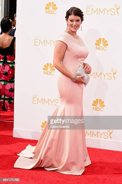 TV personality Gail Simmons attends the 66th Annual Primetime Emmy Awards held at Nokia Theatre LA Live on August 25 2014 in Los Angeles California