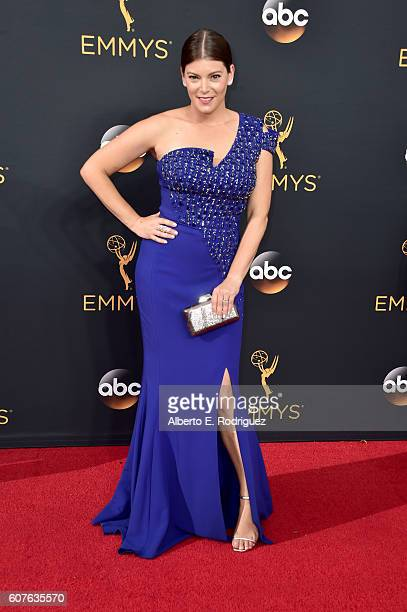TV personality Gail Simmons attends the 68th Annual Primetime Emmy Awards at Microsoft Theater on September 18 2016 in Los Angeles California