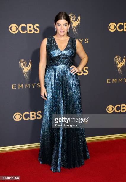 TV personality Gail Simmons attends the 69th Annual Primetime Emmy Awards Arrivals at Microsoft Theater on September 17 2017 in Los Angeles California