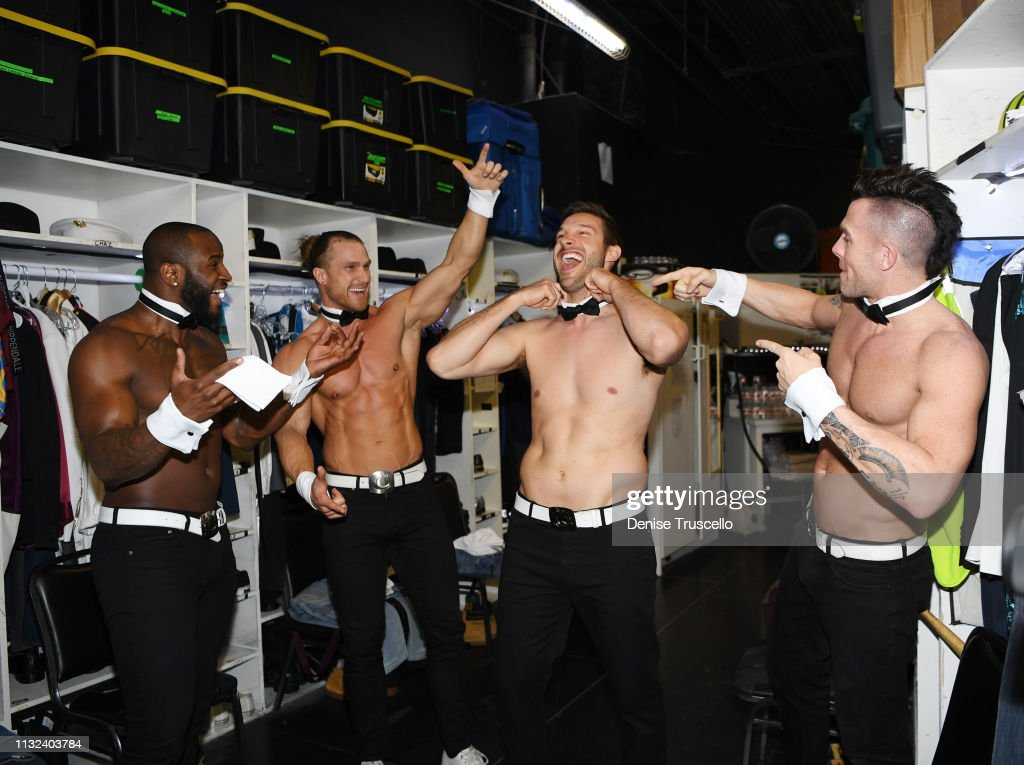 NV: The Bachelorettes Garrett Yrigoyen Guest Stars In Chippendales Las Vegas At The Rio All-Suite Hotel And Casino