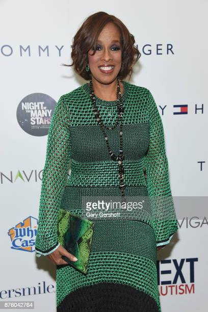 Personality Gayle King attends HBO's Night Of Too Many Stars America Unites For Autism Programs at The Theater at Madison Square Garden on November...
